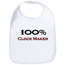 100 Percent Clock Maker Bib