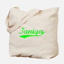 Vintage Taniya (Green) Tote Bag