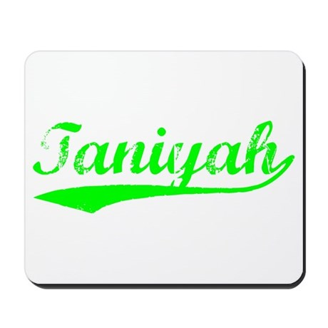 Vintage Taniyah (Green) Mousepad