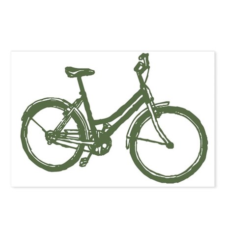 Bicycle Postcards (Package of 8)