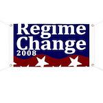 Regime Change 2008 Election Banner