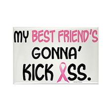Gonna' Kick Ass 1 (Best Friend) Rectangle Magnet