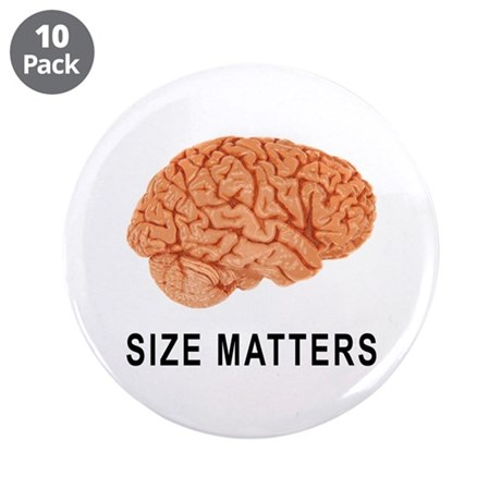 """Size Matters 3.5"""" Button (10 pack)"""