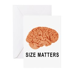 Size Matters Greeting Cards (Pk of 10)