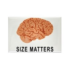 Size Matters Rectangle Magnet