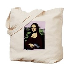 Mona Lisa with a Gun Tote Bag