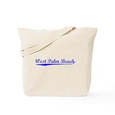 Vintage West Palm .. (Blue) Tote Bag