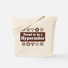 Proud Hypermiler brown Tote Bag