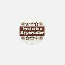 Proud Hypermiler brown Mini Button