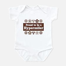 Proud Hypermiler brown Infant Bodysuit