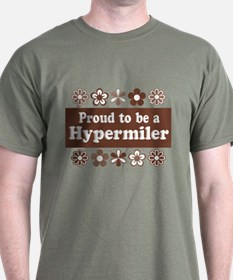 Proud Hypermiler brown T-Shirt