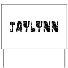 Jaylynn Faded (Black) Yard Sign