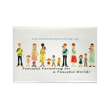 10 Pack API Family Magnets
