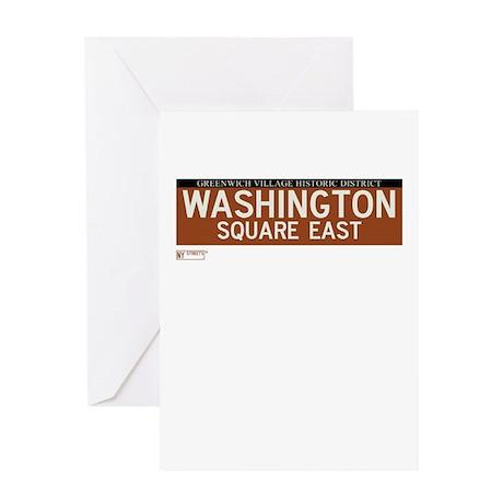 Washington Square East in NY Greeting Card