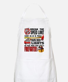 Make sure a Firefighter BBQ Apron