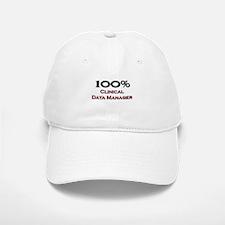 100 Percent Clinical Data Manager Baseball Baseball Cap