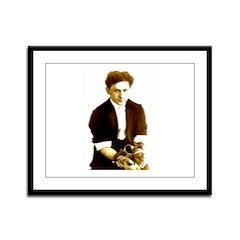 Houdini's Ghost Framed Panel Print