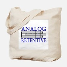 ANALOG RETENTIVE Tote Bag