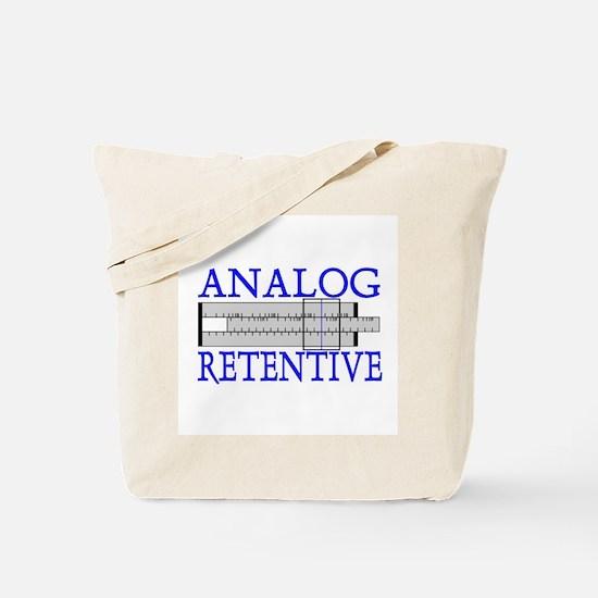 ANALOG RETENTIVE Tote Bag