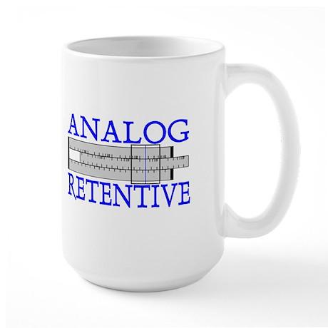 ANALOG RETENTIVE Large Mug