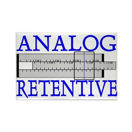 ANALOG RETENTIVE Rectangle Magnet (10 pack)