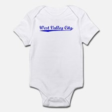 Vintage West Valle.. (Blue) Infant Bodysuit