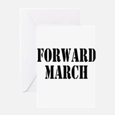The Official Forward March Greeting Card