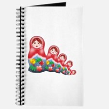 Springtime Nesting Doll Journal