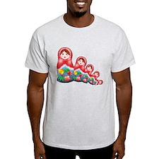 Springtime Nesting Doll T-Shirt