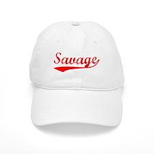 Vintage Savage (Red) Baseball Cap