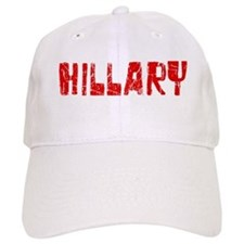 Hillary Faded (Red) Baseball Cap