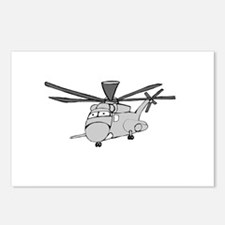 CH-53 Gray Postcards (Package of 8)