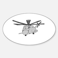 CH-53 Gray Oval Decal