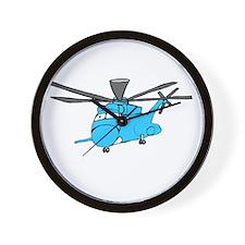 CH-53 Blue Wall Clock