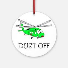 UH-60Q Ornament (Round)