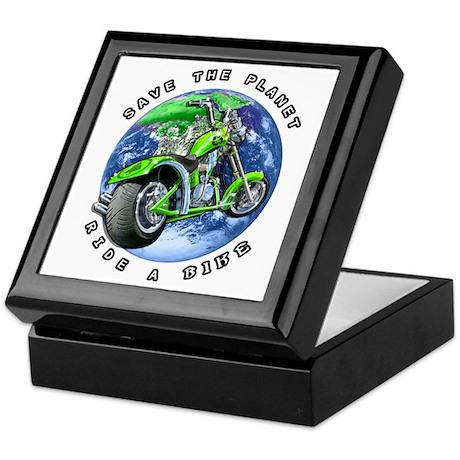 SAVE THE PLANET Ride a Bike Keepsake Box