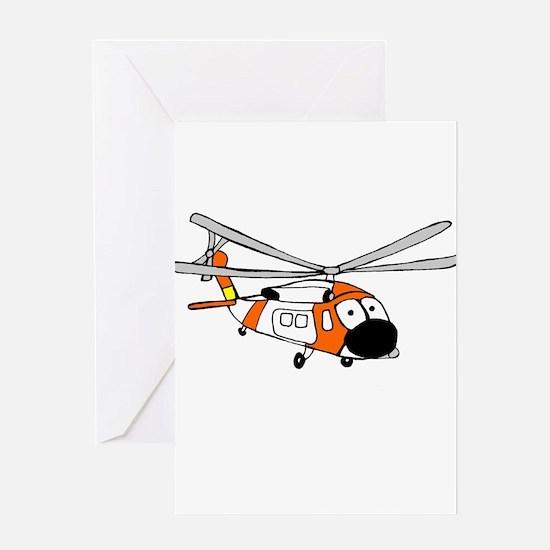 HH-60 Coast Guard Greeting Card