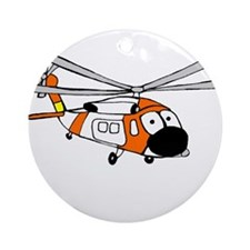 HH-60 Coast Guard Ornament (Round)