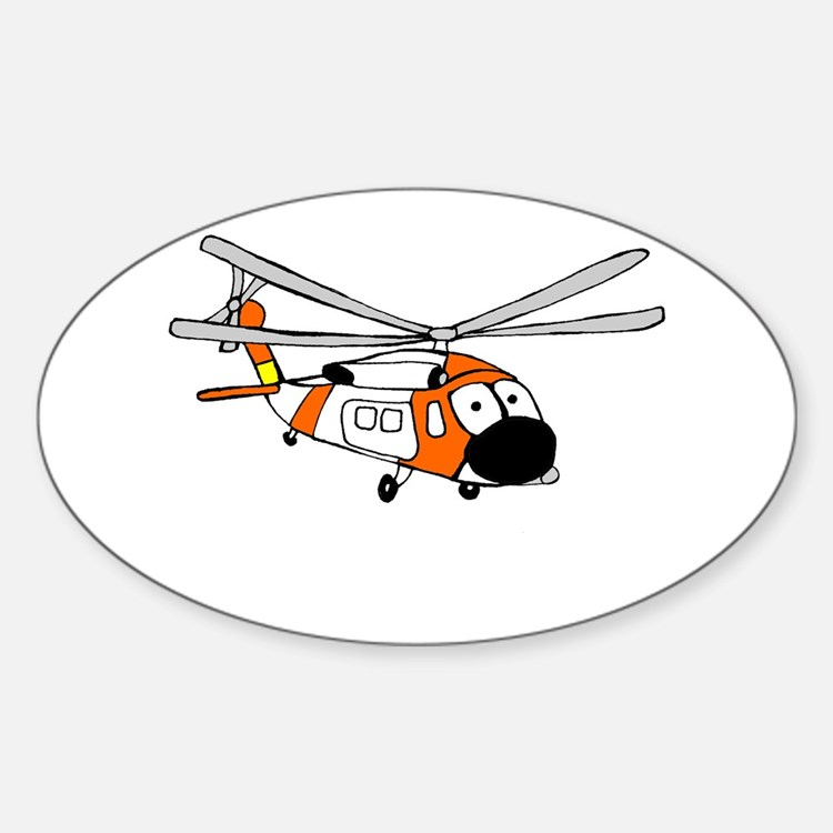 HH-60 Coast Guard Oval Decal