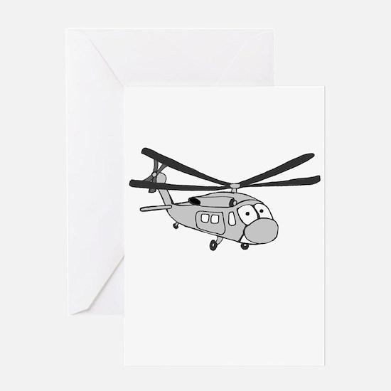 HH-60 Gray Greeting Card