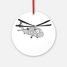 HH-60 Gray Ornament (Round)