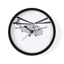 HH-60 Gray Wall Clock