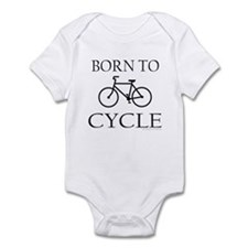 BORN TO CYCLE Infant Bodysuit