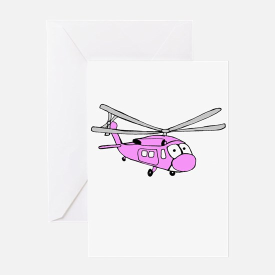UH-60 Girly Greeting Card