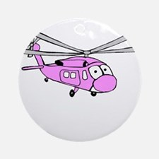 UH-60 Girly Ornament (Round)