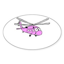 UH-60 Girly Oval Decal