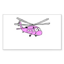 UH-60 Girly Rectangle Decal