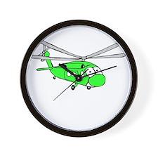 UH-60 Green Wall Clock