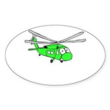 UH-60 Green Oval Decal