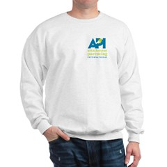 Sweatshirt with Pocket API Logo
